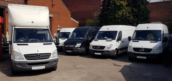 carpet distribution vans in birmingham