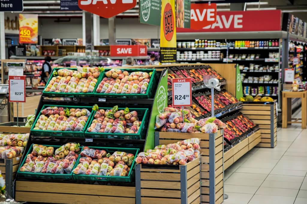 POS display supermarket